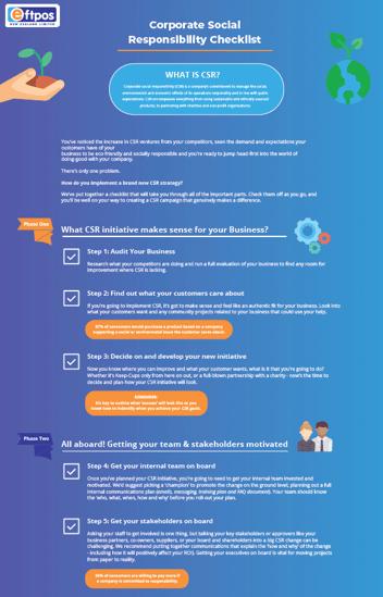 CSR Checklist Snapshot